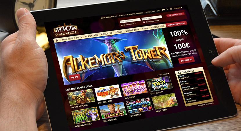 Bonus Tropezia Palace Casino, 100€ offert gratuitement