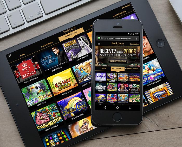 Parklane casino accessible depuis votre mobile